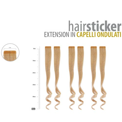 HAIRSTICKER: EXTENSION IN CAPELLI ONDULATI